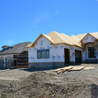 Phase 40 showhome construction
